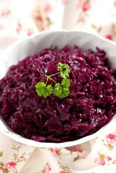 This typically Southern German vegetable is a favorite and can be served with Rouladen, Sauerbraten or Roasted Duck
