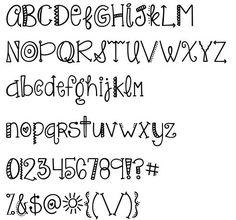 Doodling letters Doodle Fonts, Doodle Lettering, Creative Lettering, Brush Lettering, Hand Lettering Alphabet, Calligraphy Letters, Letras Cool, Fancy Letters, Fancy Fonts