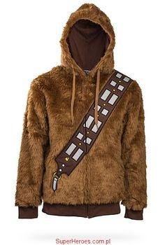 Bluza (kurtka) Chewbacca Star Wars z kapturem