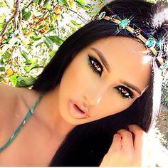 40 Princess Jasmine Makeup Looks Inspiration 18 Gorgeous Makeup, Pretty Makeup, Love Makeup, Makeup Tips, Beauty Makeup, Makeup Looks, Hair Makeup, Hair Beauty, Sultry Makeup