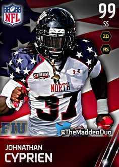 04d644495bf USA National College team design. Anthony Mazz · Madden Graphics by  YoungMazz