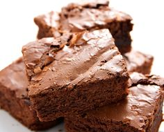 Make your brownies heart smart! Use whole wheat flour to get 4x the dietary fiber and twice the protein.