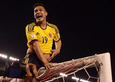 Selección #Colombia en #Brasil2014 - Teofilo Gutierrez Teofilo Gutierrez, Mens Tops, T Shirt, Fashion, Dragons, Colombia, Sports, Supreme T Shirt, Moda