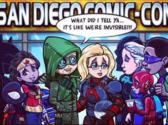 """"""" Oliver and Felicity hit San Diego for a little pop culture overload! Looking forward to meeting some new fans and reconnecting with familiar ones! Hope to see you there😁👍🏽👍🏽👍🏽😁! Supergirl Dc, Supergirl And Flash, Batgirl, Arrow Funny, Arrow Memes, Dc Comics, Flash Comics, Lord Mesa Art, Really Cool Drawings"""