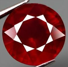 3.25 ct Natural Blood Red Ruby Round Loose Gemstone  http://www.propertyroom.com/listing.aspx?l=9477704