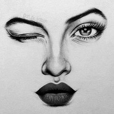 Abstract Pencil Drawings, Pencil Portrait Drawing, Dark Art Drawings, Art Drawings Sketches, Portrait Art, Eye Pencil Drawing, Pencil Drawings For Beginners, Aesthetic Drawing, Human Art