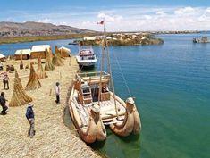 Lake Titikaka - Located on the border between Peru and Bolivia Lago Titicaca Peru, Lac Titicaca, Bolivia Travel, Peru Travel, Chile, Equador, South America Travel, Future Travel, Rome