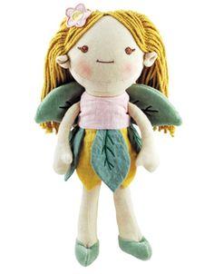 Organic + Natural Baby Dolls: miYim My Natural Good Earth Fairy Doll