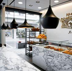 elektra bakery studioprototype architects - Marble Cafe Decoration