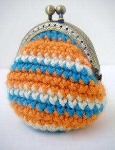 mini crochet coin purses.