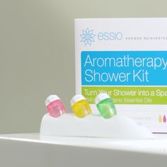 ESSIO snaps onto any shower in seconds and works with a replaceable pod to diffuse pure, therapeutic-grade essential oils into your shower at the perfect rate. Instant aromatherapy when you need it most. Plus, get 50% off today only!