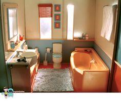 My Dollhouse - The bathroom 02 | von carpintinha