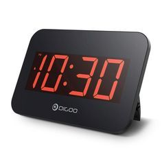 Digital Household Home 1 X Aa Battery Clock not Include Small Portable Mute Timing Alarm Clock Needle