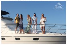Lovely Clients, Lovely Day The Yacht Luxury Charters www.theyachtmalta.com