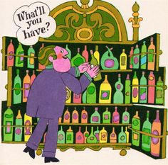 my vintage book collection (in blog form).: Booze - ilustrated by John Astrop and Eric Hill