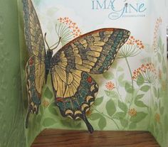 Stampin' Up! Leadership swap created by Michelle Lembcke.  It features the Swallowtail stamp set and it is so amazing!