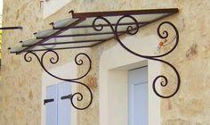 How Does Pergola Provide Shade Code: 9282400247 Iron Windows, Iron Doors, Windows And Doors, Awning Over Door, Front Door Canopy, Iron Pergola, Metal Pergola, Pergola Garden, House Awnings