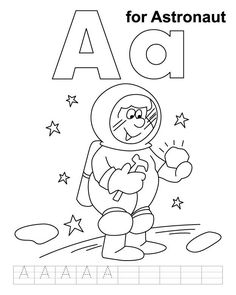 Adventurous Astronaut Coloring Pages Your #Toddlers Will Love