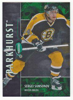 Sergei Samsonov # 132 - 2002-03 Parkhurst Hockey