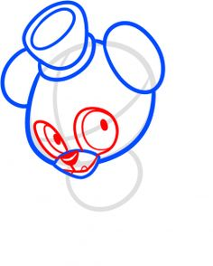 how to draw chibi freddy fazbear, five nights at freddys step 4