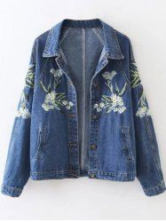 SHARE & Get it FREE | Blossom Embroidered Jeans JacketFor Fashion Lovers only:80,000+ Items • New Arrivals Daily • Affordable Casual to Chic for Every Occasion Join Sammydress: Get YOUR $50 NOW!