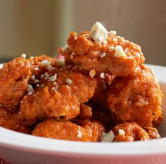 Spicy Hot Wing Chicken Bites from the Creole Contessa