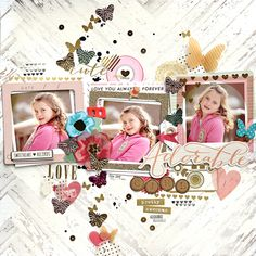 A lovely stepxstep page from #cratepaper #scrapbooking