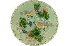 Majolica Plate on OneKingsLane.com