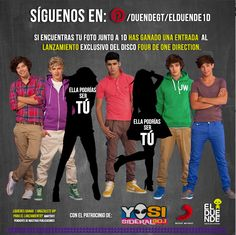 #ElDuende1D ¡Lanzamiento exclusivo del disco #Four de #OneDirection en #Guatemala!