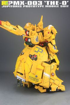 GUNDAM GUY: G-System 1/72 The-O - Painted Build