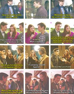 These three. I love how snarky and sarcastic Arthur is, and how Matt and Karen are constantly picking at each other.
