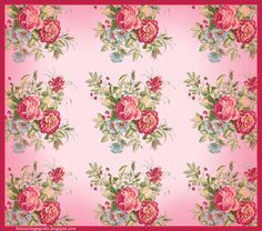 vintage background with pink flowers Vintage Floral Backgrounds, Background Vintage, Collage Vintage, Vintage Paper, Collages, Rose Cottage, Vintage Flowers, Pink Flowers, Vintage Images
