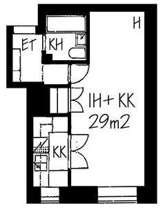 Castréninkatu, Kallio, Helsinki, 1h+kk 29 m², SATO vuokra-asunto