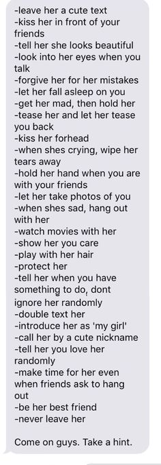 Wow, my guy does almost all of this. God I can't wait to marry him!!