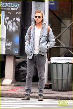 Ryan Gosling being Ryan Gosling.