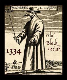 Gothic Clothing The Black Death Plague Men's T-Shirt 1334 Grim Reaper Mask Dr Tattoo, Doctor Tattoo, Grim Reaper, Plague Mask, Plague Dr, Black Plague Doctor, Bubonic Plague, Ancient Egypt History, Tatuajes