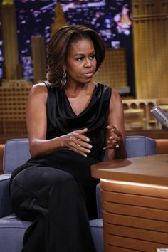 Michelle Obama on Tonight show