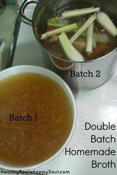Double Batch Homemade Bone Broth   Naturally Loriel
