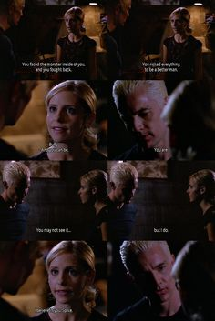 Buffy the Vampire Slayer. Spike and Buffy. Best Tv Shows, Best Shows Ever, Favorite Tv Shows, Favorite Things, Spike Buffy, Buffy The Vampire Slayer, John Hart, Bad Boy, Buffy Summers