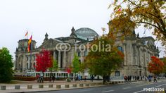 The #Reichstag building in #Berlin, #Germany
