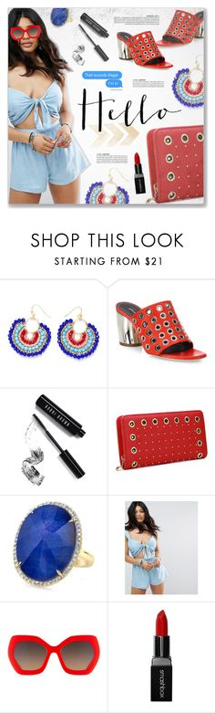 """""""Power, Little Mix"""" by blendasantos ❤ liked on Polyvore featuring Proenza Schouler, Bobbi Brown Cosmetics, ASOS, Alice + Olivia, Smashbox and eyelet"""