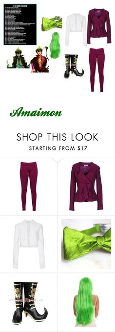 """""""Day 17 Amaimon"""" by maddiehatter202 ❤ liked on Polyvore featuring Great Plains, Clips More and Carolina Herrera"""