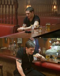 I, for one, would not let him drink alone.  :)