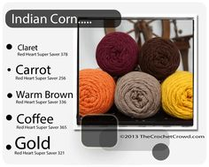 Indian Corn Color Combo