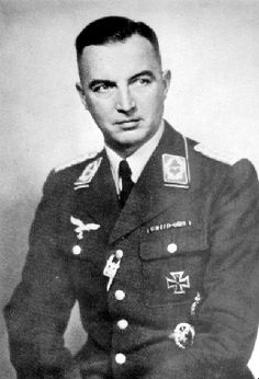 Colonel Caesar von Hofaker was hung for his part in the failed 20 July 1944 conspiracy against Hitler