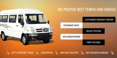 If you are looking for best rental services for tempo traveller then car yatri is the best option that offers you 25% discount  for book every vehicles. We have large fleet of tempo traveller for rent in Delhi that you can easily travel diiferent places of India.