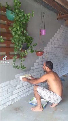 Diy Crafts For Home Decor, Diy Wall Decor, Diy Interior, Home Interior Design, Home Room Design, House Design, Garden Yard Ideas, Creation Deco, Home Decor Styles
