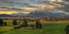 Hartl - Blick vom Plainberg auf Salzburg