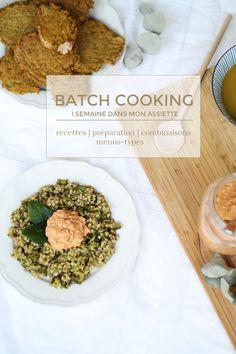 Batch cooking 1 semaine dans mon assiette