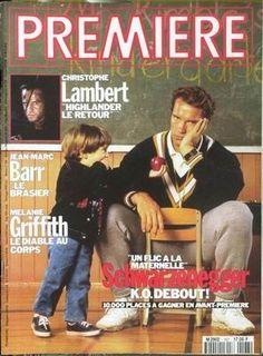Arnold Schwarzenegger - Premiere Magazine [France] (February 1991)